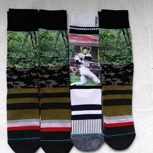 (4) Stance Men's Socks